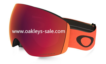 Oakley flight deck snow harmony fade prizm-torch
